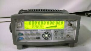 Agilent Keysight 53150a Microwave Frequency Counter Dc 20 Ghz Used