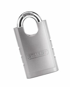 Stanley Hardware S828 160 Cd8820 Shrouded Hardened Steel Padlock 60mm Width