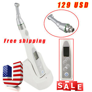 Worldwide Free Ship Cordless Dental Endo Motor 16 1 Contra Handpiece Fit Nsk