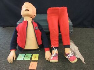 Resusci Junior Cpr Child Full Body Training Manikin First Aid Patient Simulator