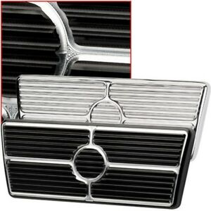 Camaro Brake Pedal Pad For Cars With Automatic Transmission Black Anodized