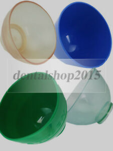Dental Mixing Bowl Silicone Rubber Flexible Alginate 4 Sizes Colorful Bowl