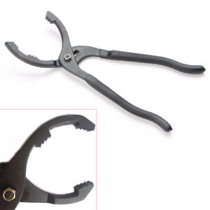 Oil Filter Pliers 12 Wrench Remover Hand Tool Car Auto Adjustable Grip Repair