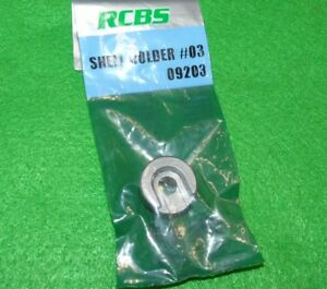 Vintage RCBS Shell Holder #3- Parts Lot 30-06-358 Win-308- 45 ACP + Many More