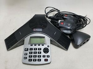 Polycom 2201 19000 001 Soundstation Duo Hd Voice Conference Phone W Mics