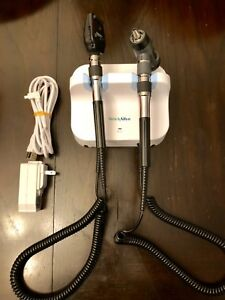 Welch Allyn Gs 777 Wall Transformer With Otoscope Opthalmoscope Heads With Cord