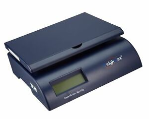 Weighmax Postal Shipping Scale With Battery And Ac Adapter Blue w 2822 75 b