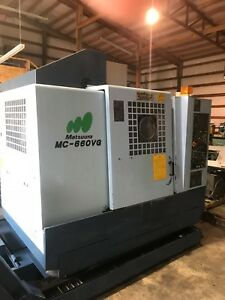 Matsuura Mc 660 Vg Vertical Cnc Machining Center