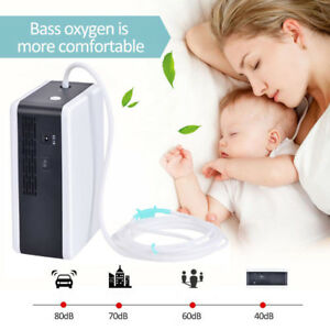Portable Home Oxy Generator 4l min Oxy Car Travel Air Purifier Safety Output
