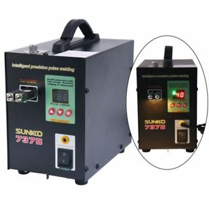 Sunkko 737b Battery Spot Welder 1 5kw Precision Pulse Spot Welder Led Light New