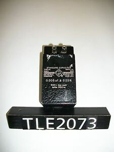 General Radio 509 k Standard Capacitor tle2073