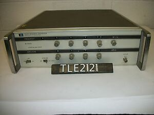 Hp agilent 3320b Frequency Synthesizer tle2121