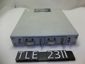 Rf Plasma Products Amnps 2a Rf Match Network Controller tle2311