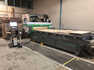 2012 Biesse Skill 1536g Ft 5x12 Cnc Router With Sweep Arm