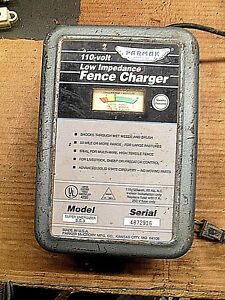 Parmak Powerline Operated 110 V Low Impedance Fence Charger Super Energizer 3