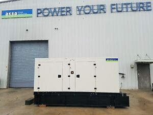 Factory New 150 Kw Diesel Generator Aksa Power Model Apd ulj150 2 Year Warranty