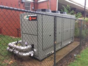 2012 Trane 35 Ton Cgam Air Cooled Process Chiller 208 220v Tested