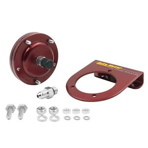 Fuel Press Isolator Kit For 15 Psi Gauges Red Anodized Aluminum 4an Fittings