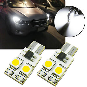 6000k T10 194 168 Led Bulbs For Subaru Wrx 2015 2019 Boomerang Parking C light
