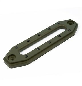 Ami Demon Hawse Fairlead Black Rivets Od Green