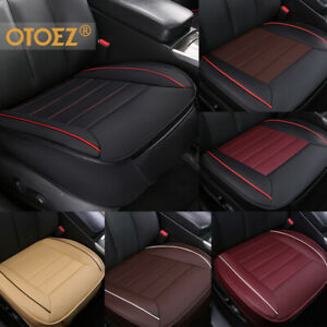 3d Deluxe Leather Car Seat Cover Full Surrounded Pad Mat For Auto Chair Cushion