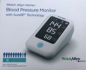 Welch Allyn Home Blood Pressure Monitor W Surebp Patented Technology Newest