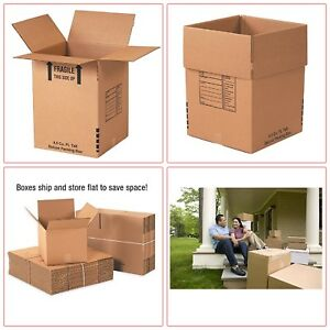 15 Packs Deluxe Packing Box Shipping Box Moving Box 18 X 18 X 24 Tax Free
