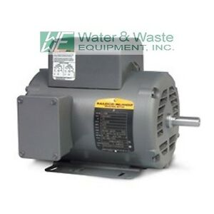 L1410t 5 Hp 1725 Rpm New Baldor Air Compressor Electric Motor