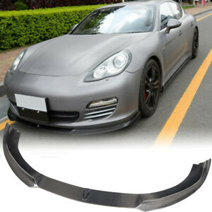 Carbon Fiber Car Front Bumper Lip Spoiler Bodykit Fit For Porsche Panamera 10 13