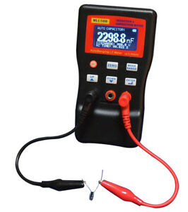 Mlc500 Auto Ranging Lc Meter 500 Khz Test Inductor And Capacitor