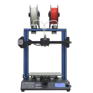 Geeetech 3d Printer A20m Break resuming Capability 2 In 1 Out Extruder