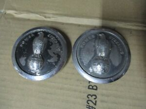 Set Of 2 Case Tractor Steering Wheel Cap With Single Eagle Part A20475