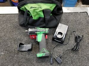 Snap On Green Ct761ag Ct761 14 4v 3 8 Impact Set With Magnetic Boot And Bag