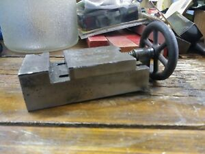 Vintage Machinist Made Drill Press Vise Very Nice