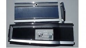 Mopar 66 67 68 Coronet Gtx Road Runner Console Top Plate 3 Piece Set 4spd
