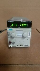 Kikusui Pmc18 2a Dc Power Supply Good