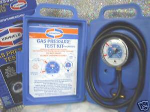 Gas Pressure Test Kit Easy To Use 0 15 W c Range