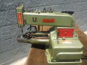 Industrial Sewing Machine Model Lewis 200 1 Button Sewer tacker