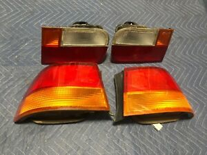 96 98 Honda Civic Coupe Inner Outer Tail Lights Rh Lh