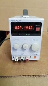 Kenwood Pa18 3a Regulated Dc Power Supply Good