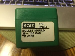 RCBS.38 Cal. Bullet Mould 140 grain Round Nose Flat Point PN 8230. New in Box