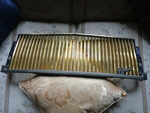 1990 94 Lincoln Town Car Gold Electro Plated Grill Fits Possibly Up To 97