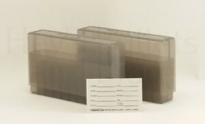 BERRY'S PLASTIC AMMO BOXES (2) SMOKE 20 Round 270  30-06  More - FREE SHIPPING