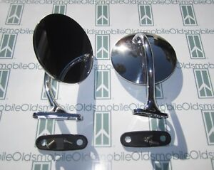 1949 1950 Oldsmobile Outside Rear View Mirrors Show Quality
