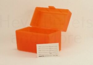 BERRY'S PLASTIC AMMO BOX ORANGE 50 Round 270  30-06  More- BUY 5 GET 1 FREE