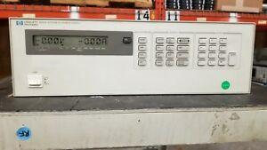 Hp 6623a Triple Output System Dc Power Supply Good Read
