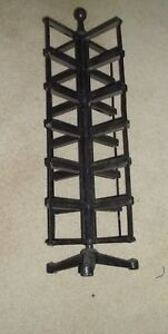 Antique Country Store Counter Top Rotating Post Card Display Rack Rare Rare Rare