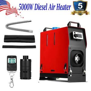 5000w Diesel Air Heater All In 1 5kw 12v For Trucks Motor homes Boats Bus Camper
