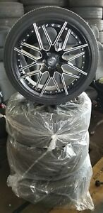 20 Inch Black Rims And Tires
