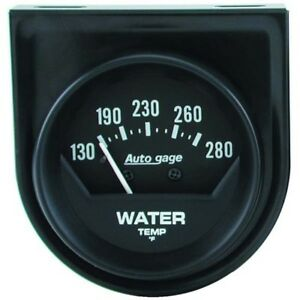 Auto Meter 2361 Mechanical Console Water Temp Gauge 2 1 16